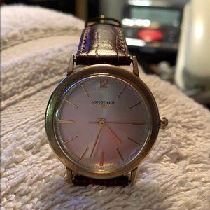 Beautiful Vintage Longines Wristwatch. Mechanical